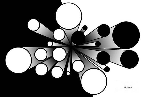 Digital Art - Pillars by E B Schmidt