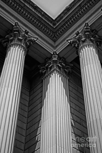 Federal Triangle Wall Art - Photograph - Pillars Of Strength by Tom Gari Gallery-Three-Photography