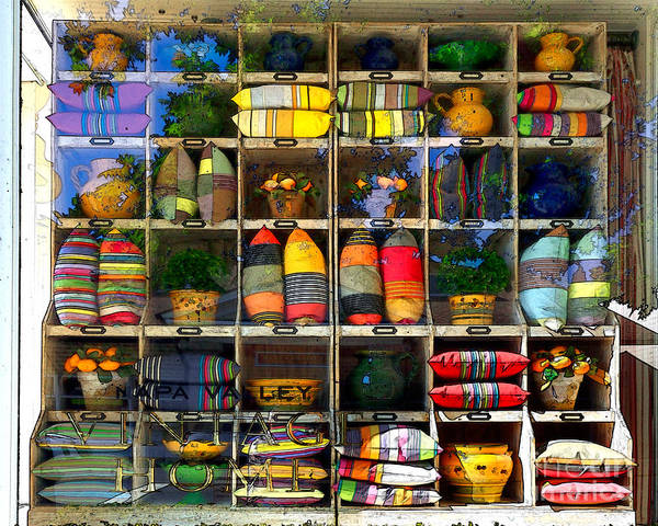 Photograph - Pillows And Pots by James Eddy