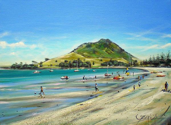 Painting - Pilot Bay Mt M 050110 by Sylvia Kula