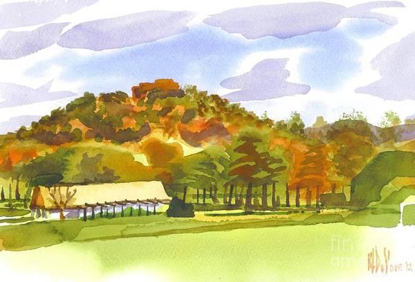 Painting - Pilot Knob Mountain by Kip DeVore