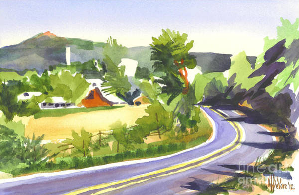Painting - Pilot Knob Mountain Out Jj by Kip DeVore