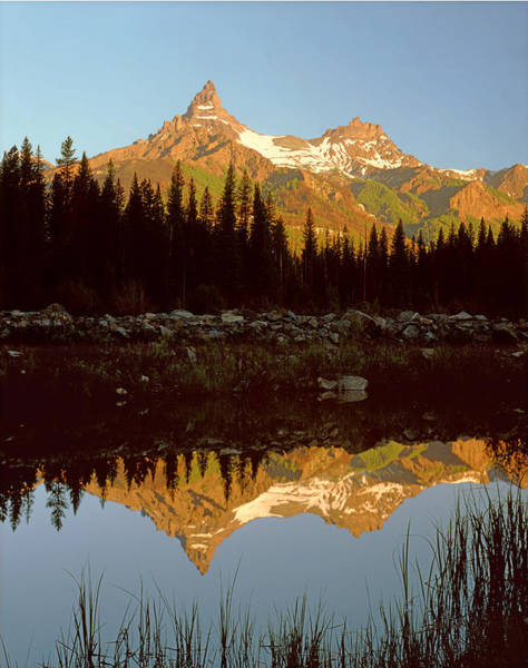 Photograph - 1a9209-pilot Peak And Index Peak Reflect by Ed  Cooper Photography