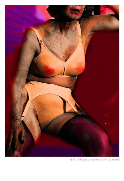 Digital Art - Pin Up Number 4 by Bob Winberry