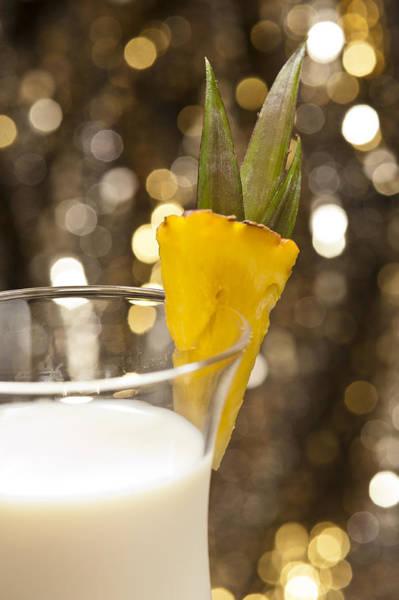 Photograph - Pina Colada Cocktail by U Schade