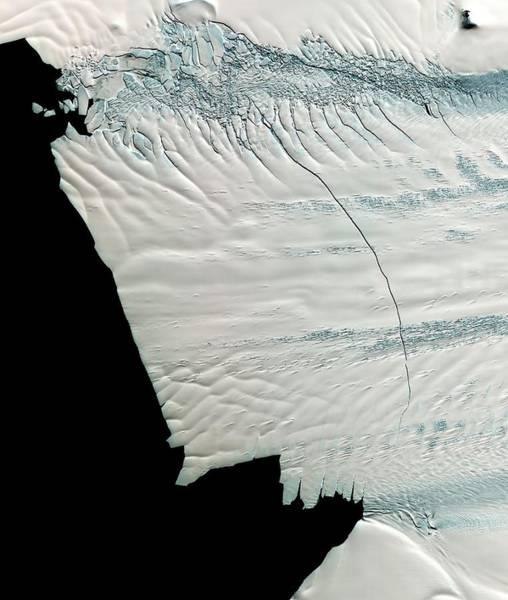 Wall Art - Photograph - Pine Island Glacier by Nasa/gsfc/meti/ersdac/jaros/us-japan Aster Science Team/science Photo Library