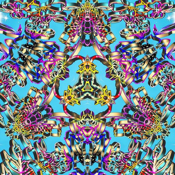 Digital Art - Pineal Lattice by Derek Gedney