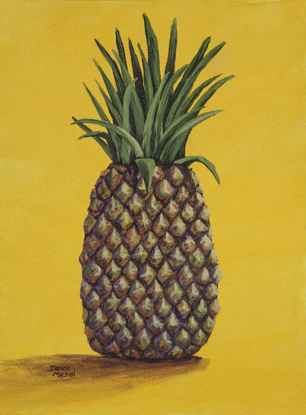 Painting - Pineapple 4 by Darice Machel McGuire