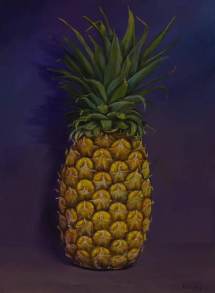 Painting - Pineapple Merlot by Nancy Lauby