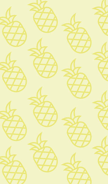 Pineapples Digital Art - Pineapple Pattern by Pixels