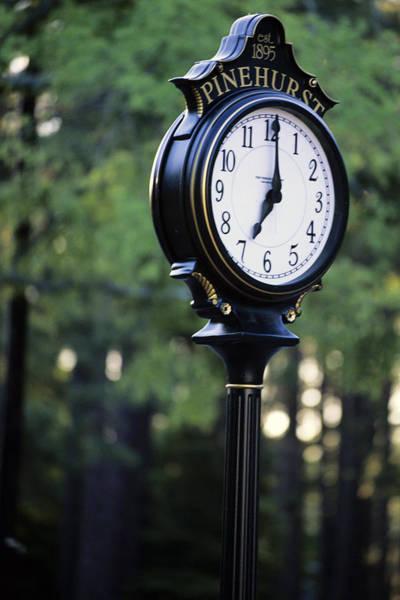 Dom Wall Art - Photograph - Pinehurst Clock by Dom Furore