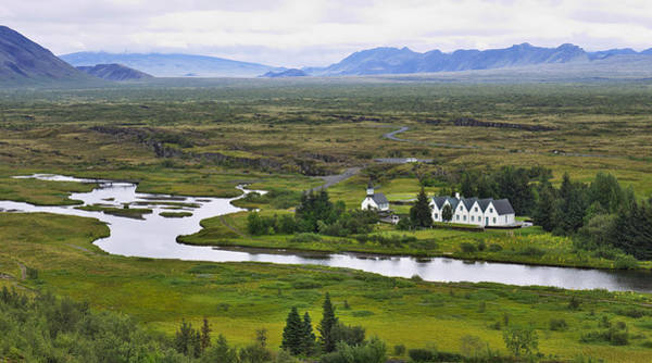 Photograph - Pingvellir National Park by Ivan Slosar