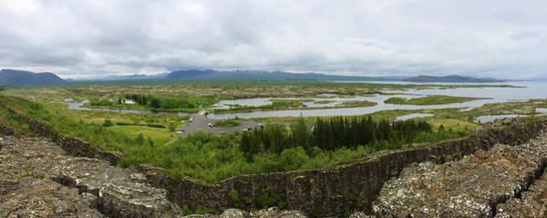 Wall Art - Photograph - Pingvellir Thingvellir Iceland Panorama by Matthias Hauser