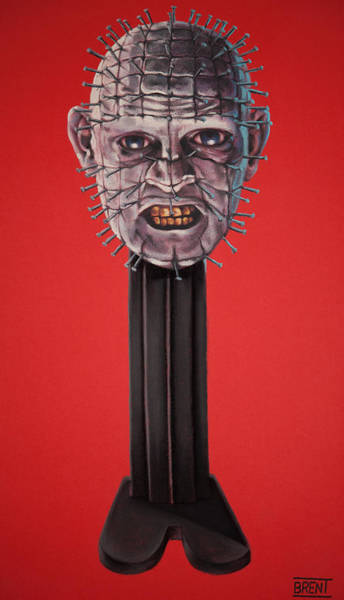 Pinhead Art Print by Brent Andrew Doty
