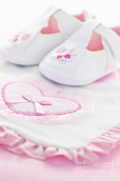 Wall Art - Photograph - Pink Baby Girl Clothes by Elena Elisseeva