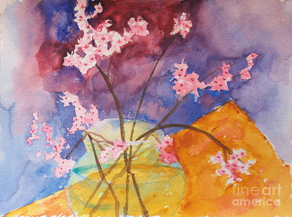 Painting - Pink Bouquet by Walt Brodis