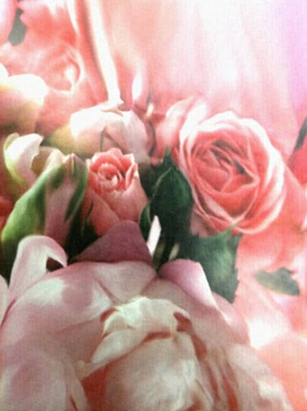 Painting - Pink Bridal Bouquet by Dennis Buckman