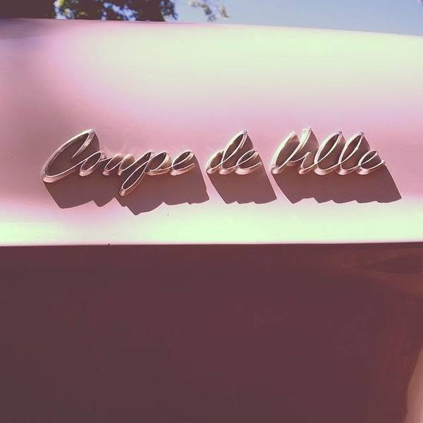 Landmark Wall Art - Photograph - Pink Cadillac by Heidi Hermes