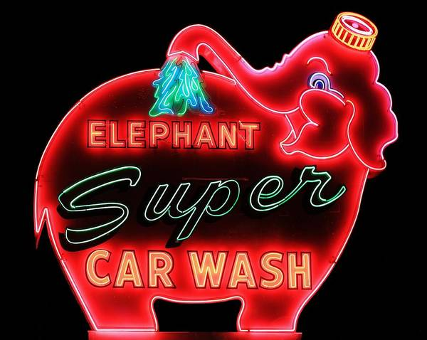 Car Wash Photograph - Pink Etant by Benjamin Yeager