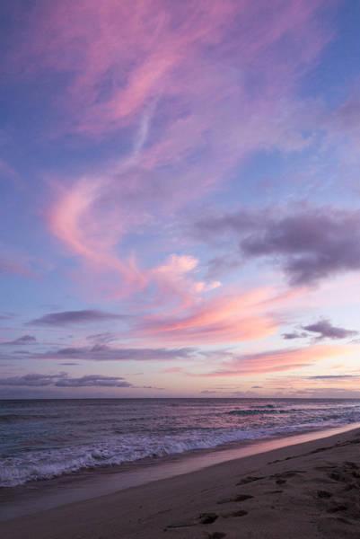 Wall Art - Photograph - Pink Ewa Beach Sunset - Oahu Hawaii by Brian Harig