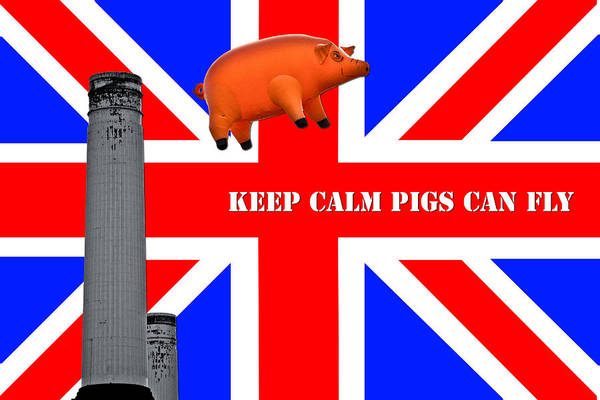 Wall Art - Photograph - Pink Floyd Pig by Dawn OConnor