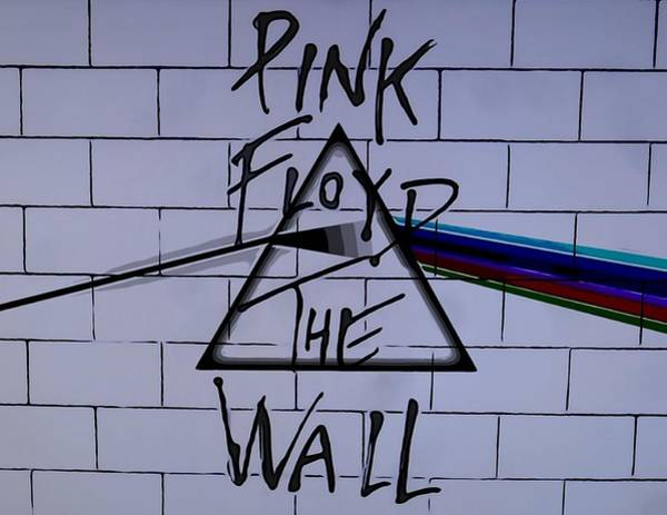 Wall Art - Digital Art - Pink Floyd Poster by Dan Sproul