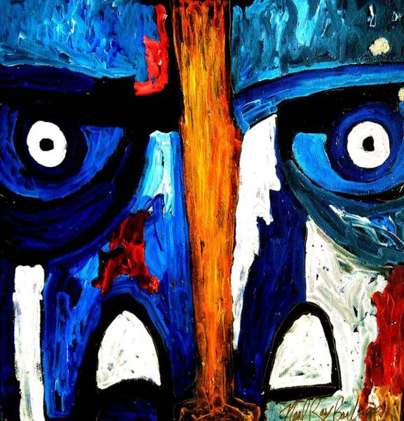 Painting - Pink Floyde by Neal Barbosa