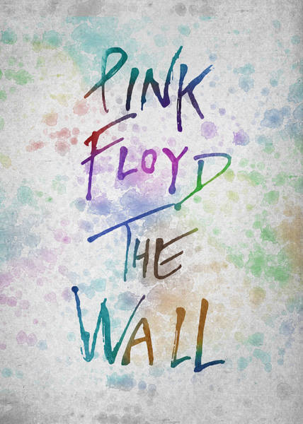 Wall Art - Digital Art - Pink Floyed The Wall by Aged Pixel