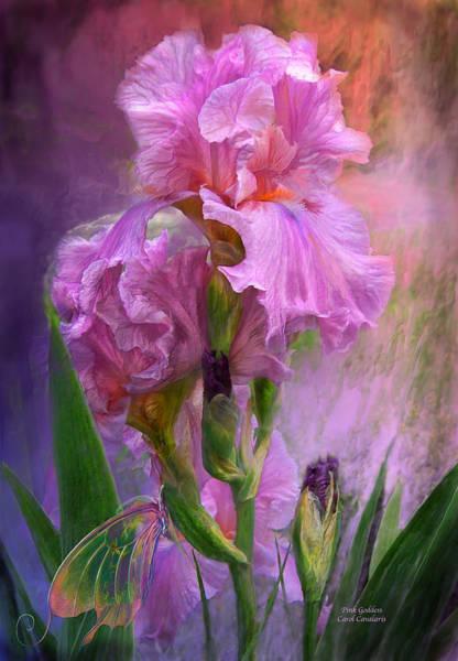 Romantic Flower Mixed Media - Pink Goddess by Carol Cavalaris