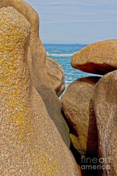 Photograph - Pink Granite Formation by Heiko Koehrer-Wagner