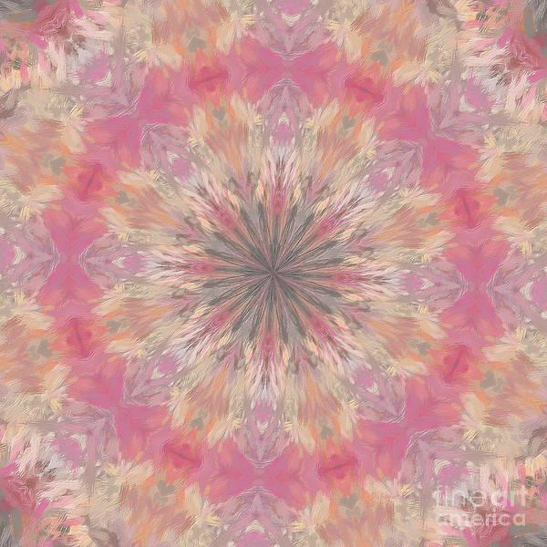 Digital Art - Pink Healing Mandala by Deborah Benoit