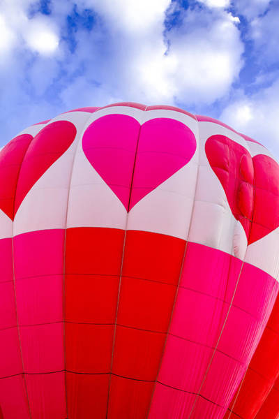 Photograph - Pink Heart Balloon by Teri Virbickis