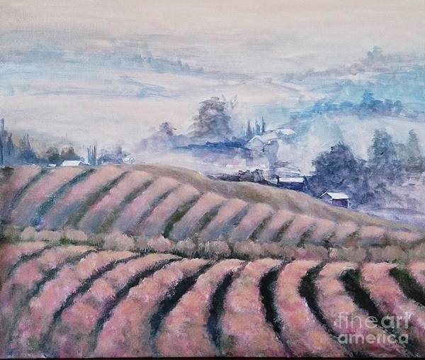 Painting - Pink Mist  by Kathy  Karas