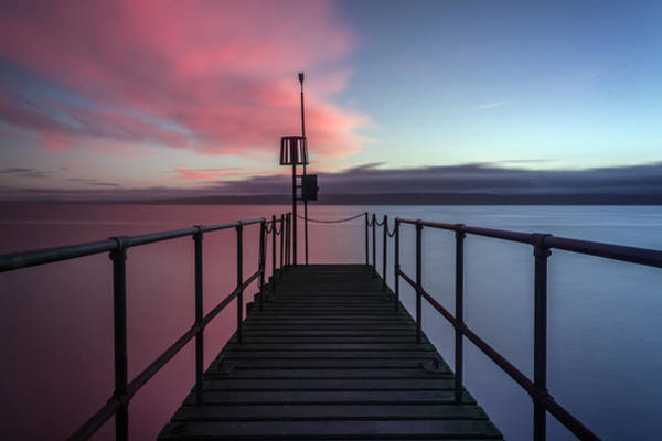 West Wales Photograph - Pink Or Blue by Paul Madden
