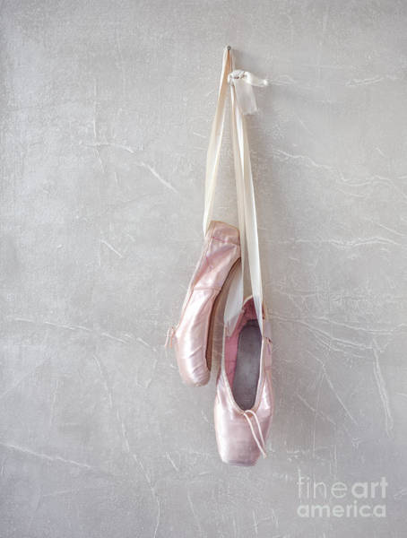 Dance Photograph - Pink Pointe Shoes by Diane Diederich