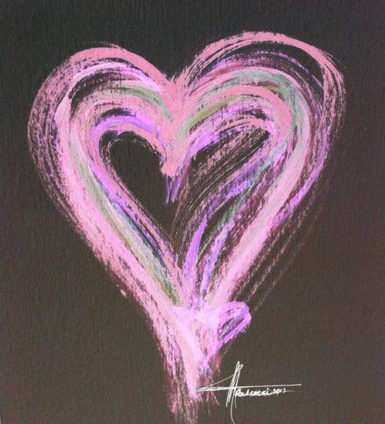 Painting - Pink Rules by Marian Palucci-Lonzetta