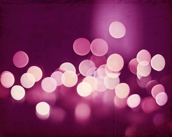 Wall Art - Photograph - Pink Sparkle by Carolyn Cochrane