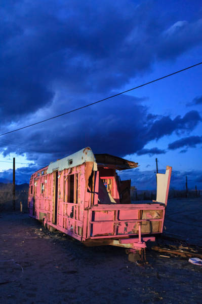 Photograph - Pink To Sleep Airstream Travel Trailer by Scott Campbell