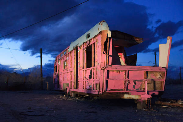Photograph - Pink To The Side Air Stream Travel Trailer by Scott Campbell