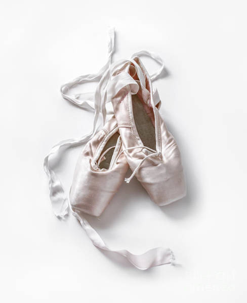 Pointe Shoes Wall Art - Photograph - Pink Toe Shoes by Diane Diederich