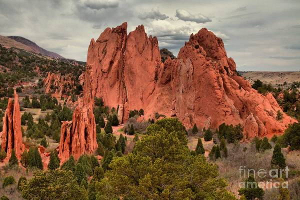 Photograph - Pink Towers Of The Gods by Adam Jewell