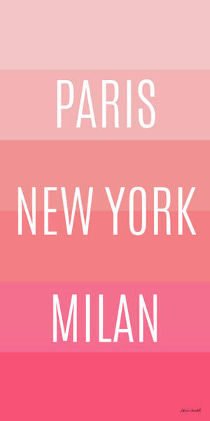 Wall Art - Painting - Pink Travel by Lanie Loreth