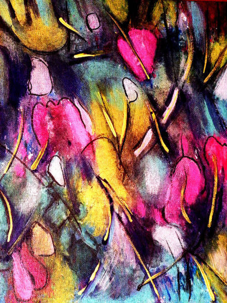 Pinktulips 2 Art Print
