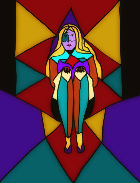Donna Digital Art - Pinnacle Of Womanhood by Donna Blackhall