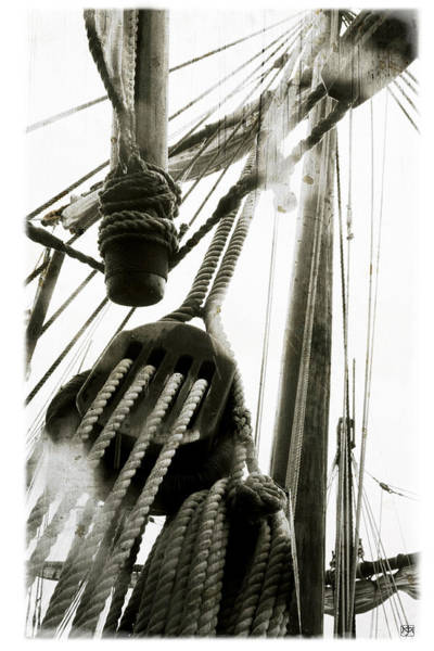 Photograph - Pinta Rigging by John Meader