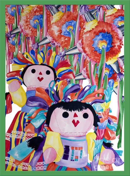 Painting - Pinata Christmas by Kandyce Waltensperger