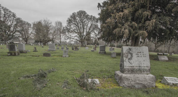 Photograph - Pioneer Resting Place by Jean Noren