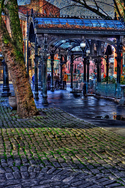 David Patterson Photograph - Pioneer Square In Seattle by David Patterson