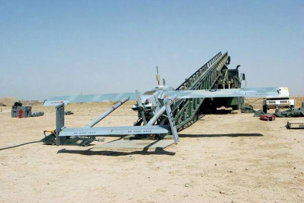 Iraqi Photograph - Pioneer Unmanned Aerial Vehicle by Us Marine Corps/science Photo Library