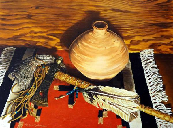Painting - Pipe Hawk by Linda Becker